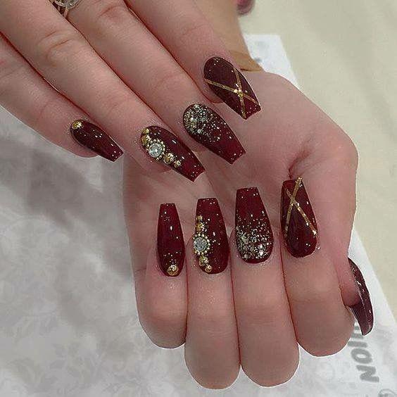Indian bride nail art | Nails | Pinterest | Bride nails ...