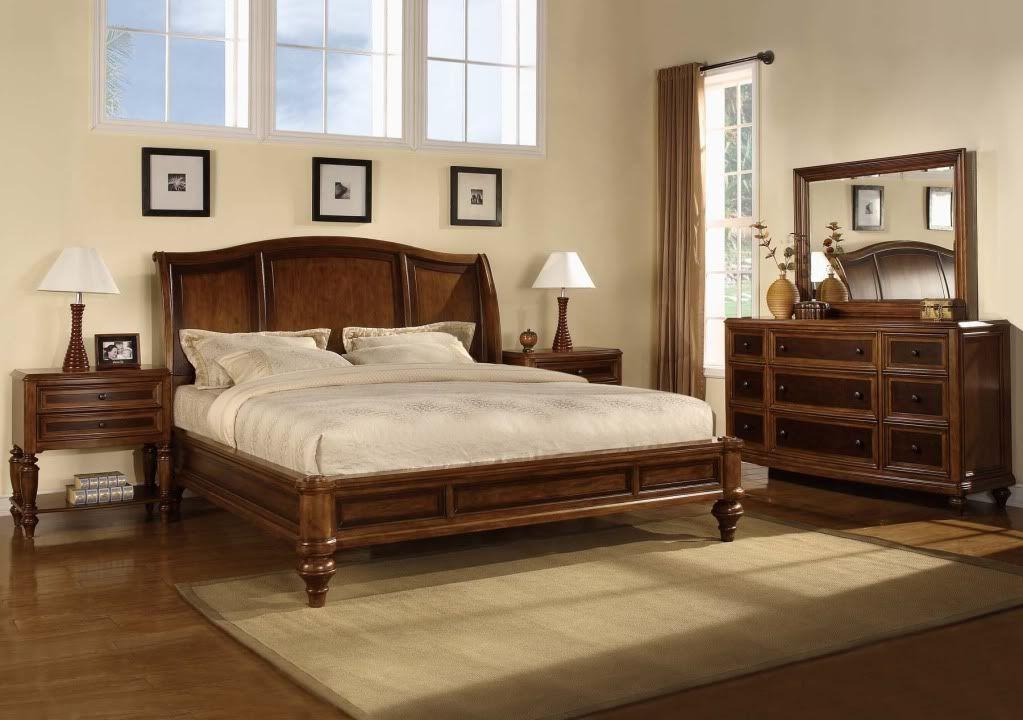 Billig Schlafzimmer Mit Queensize Bett Sets Mit Matratze Brilliant ...