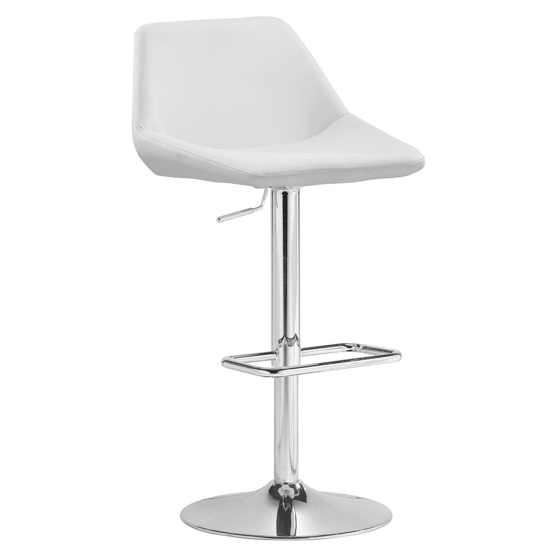 Newman White Barstool Zuo Modern White Bar Stools Modern