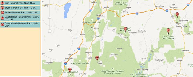 The Mighty 5 National Parks Plan A Trip Around Utah Utah