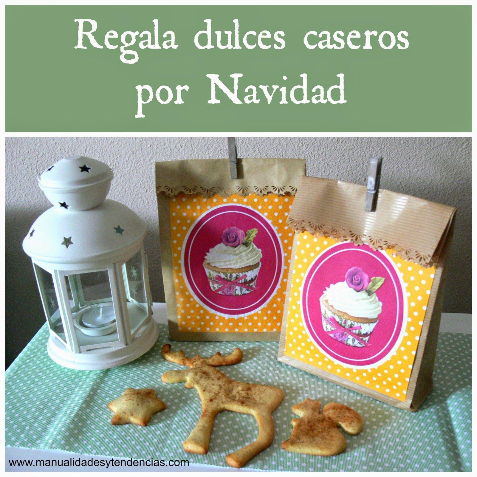 Idea Regalo Navidad Dulces Caseros Www Manualidadesytendencias  ~ Regalos Originales Para Navidad Manualidades