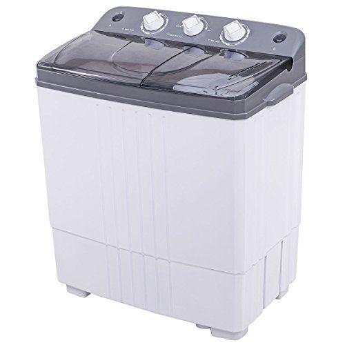 Portable Washing Machine Costway Compact Twin Washer W