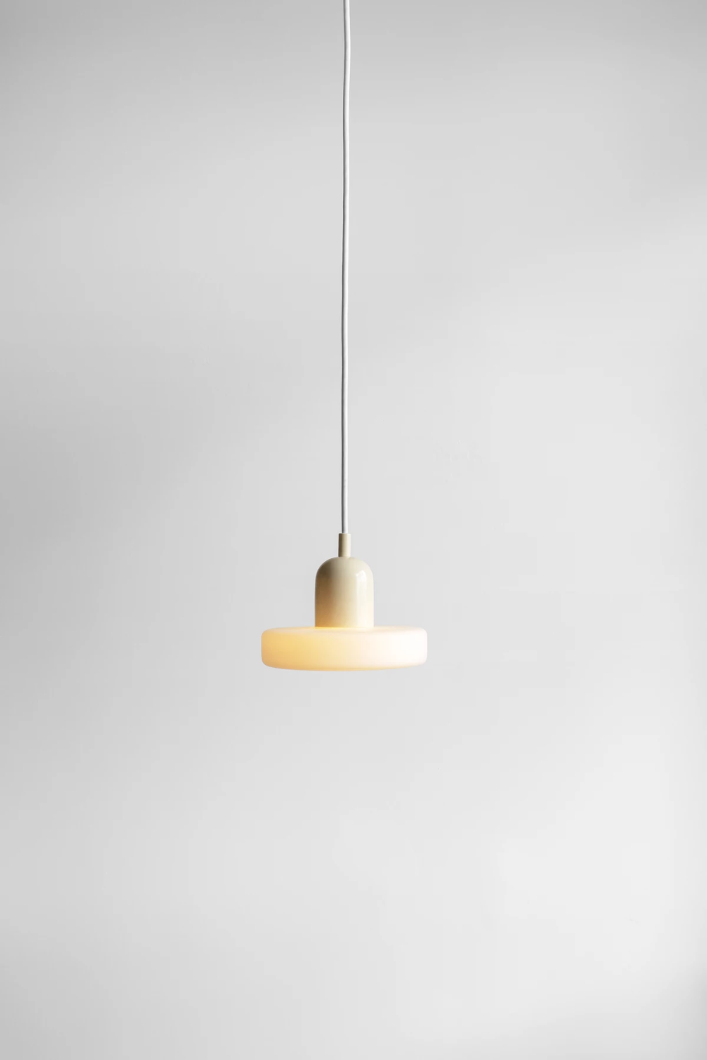 Puck Pendant In 2020 Glass Diffuser Unique Lighting Frosted Glass
