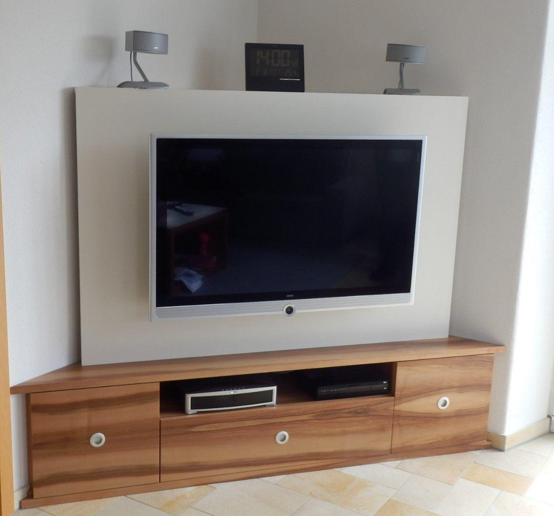 tv möbel ecklösung  Tv möbel, Tv möbel ecke, Wohnen