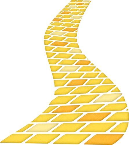 the yellow brick road oz pinterest yellow brick road brick rh pinterest com Yellow Brick Road Background yellow brick road clipart free