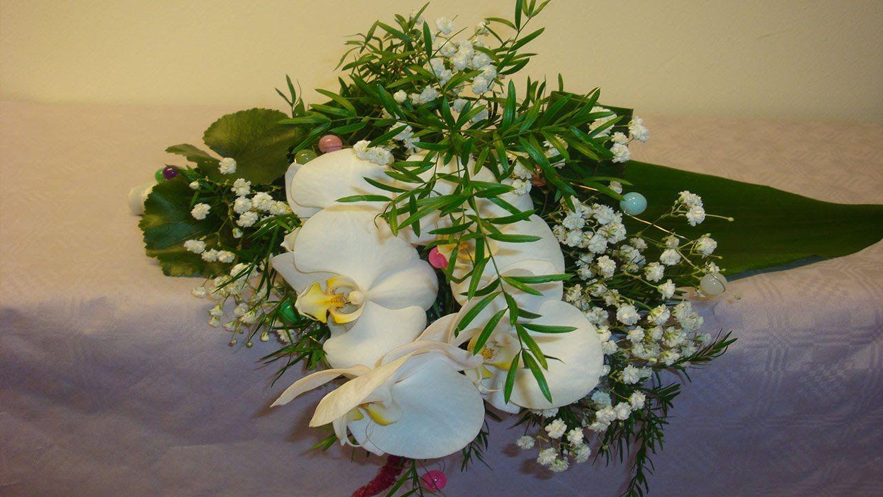 blumen deko selber machen liegestrau mit phalaenopsis deko ideen mit flora shop floristik. Black Bedroom Furniture Sets. Home Design Ideas