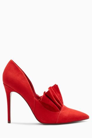 Buy Red Frill Point Court Shoes from Next Ukraine | Wislist ...