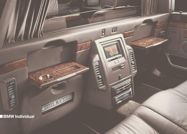 Karl Lagerfelds Bmw 750i L7 Individual Bmw E23 E32 E38 7series