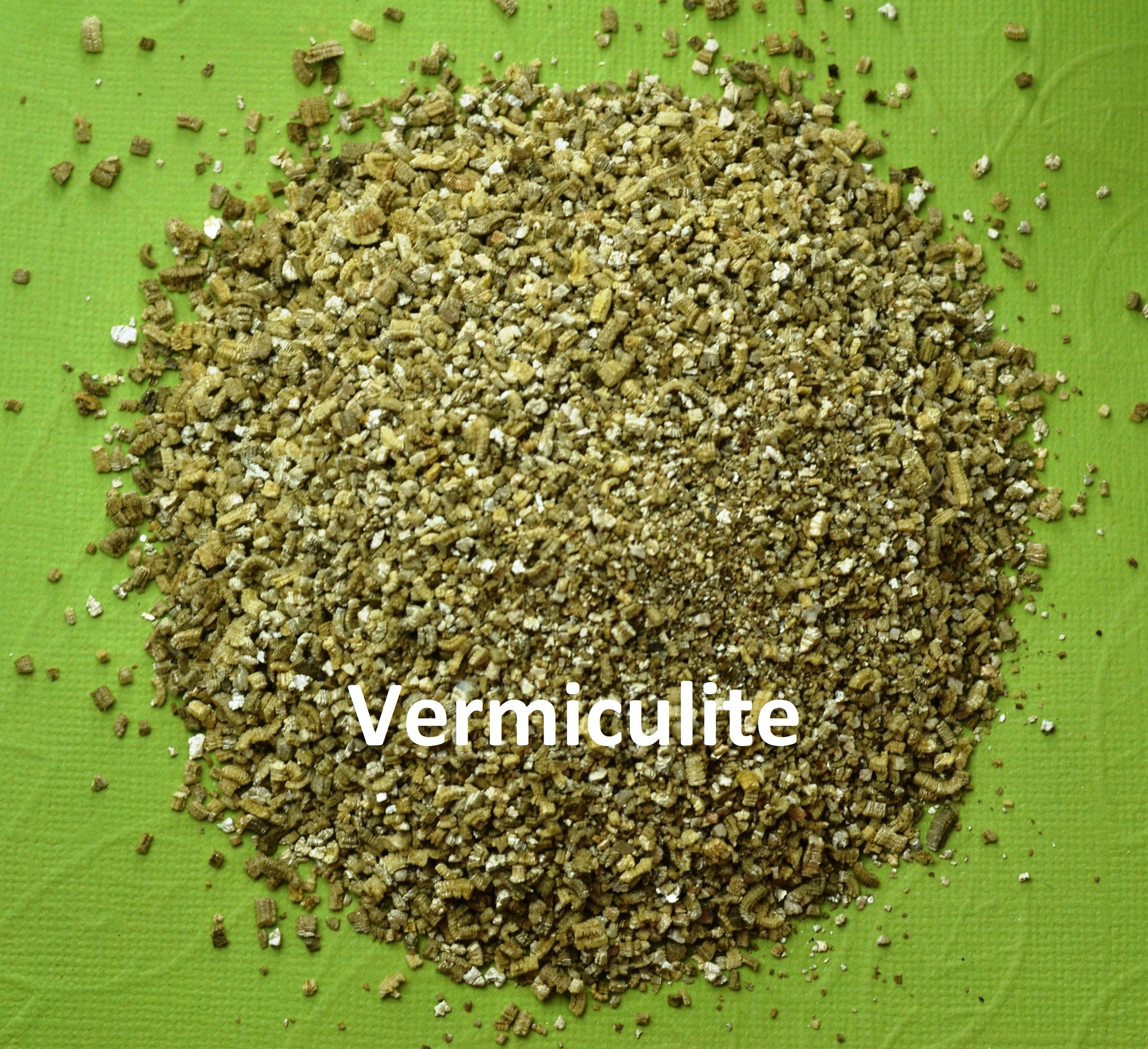 Vermiculite: it is mixed with AV potting soil to create air pockets ...