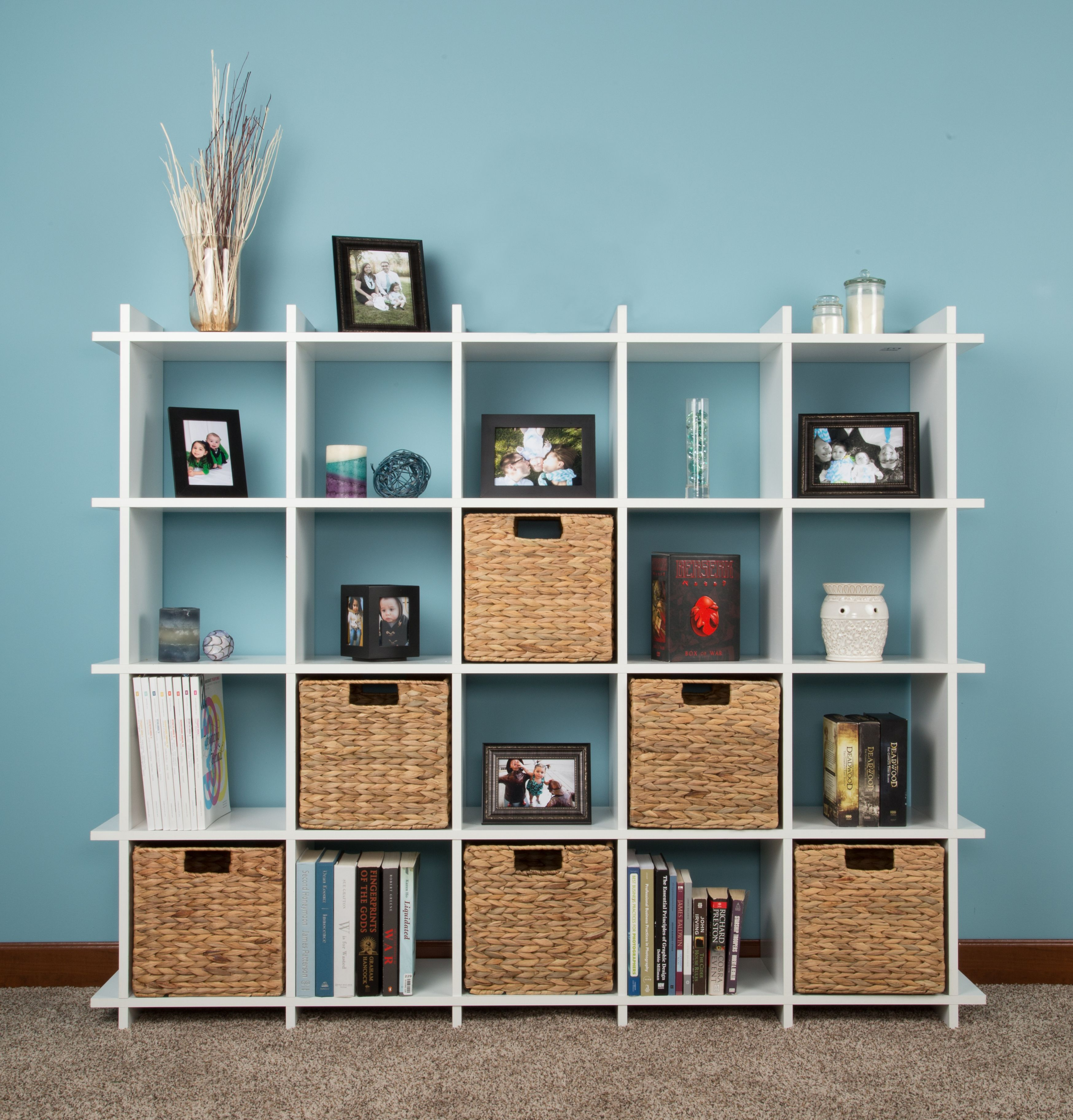 Design Your Own Book Case With Lockube Wooden Closet Shelves Closet Makeover Paint Color Inspiration