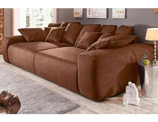 Big-Sofa, wahlweise in 2 Größen, Energieeffizienz A Big sofas and Big - big sofa oder wohnlandschaft