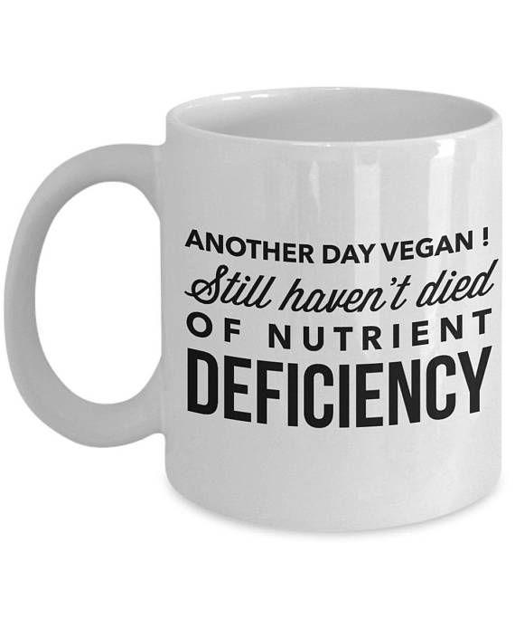 Vegan MugFunny GiftVegan PresentsVegan Birthday