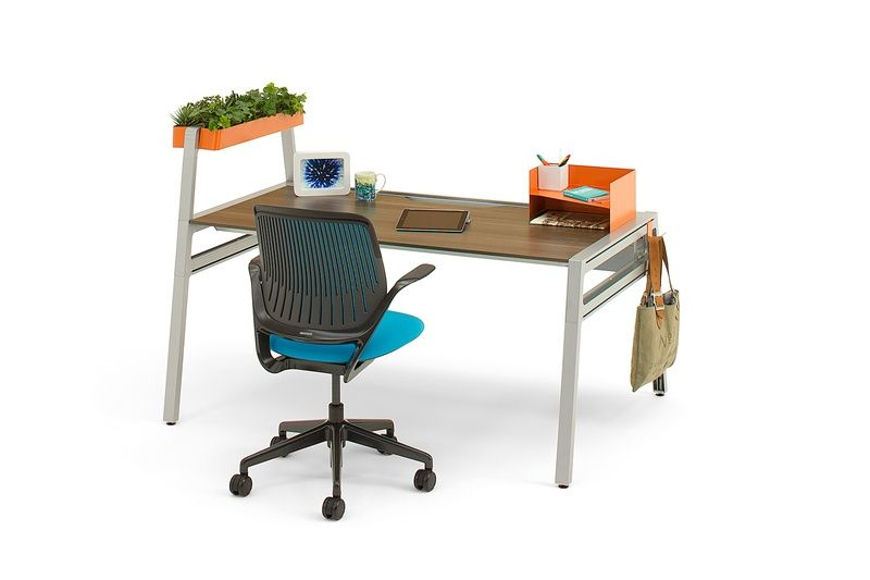 Bivi modular office desk system features workspace pinterest