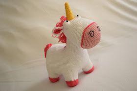Flauschiges Einhorn Fluffy Unicorn Arte De Crochetar Pinterest