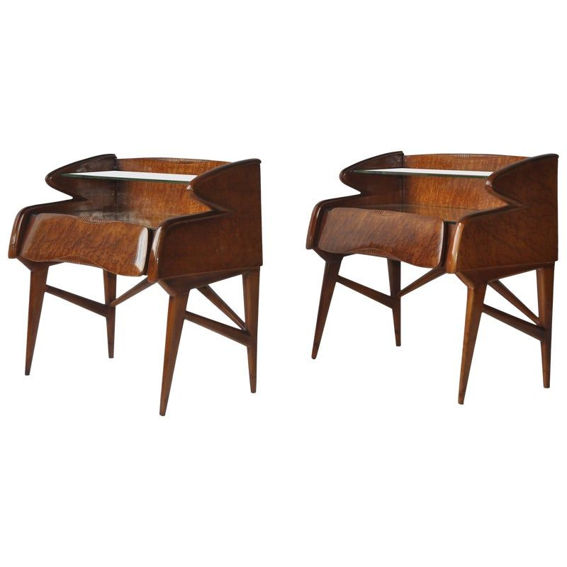 Best Pair Of 1950S Italian Nightstands Dining Chair 400 x 300