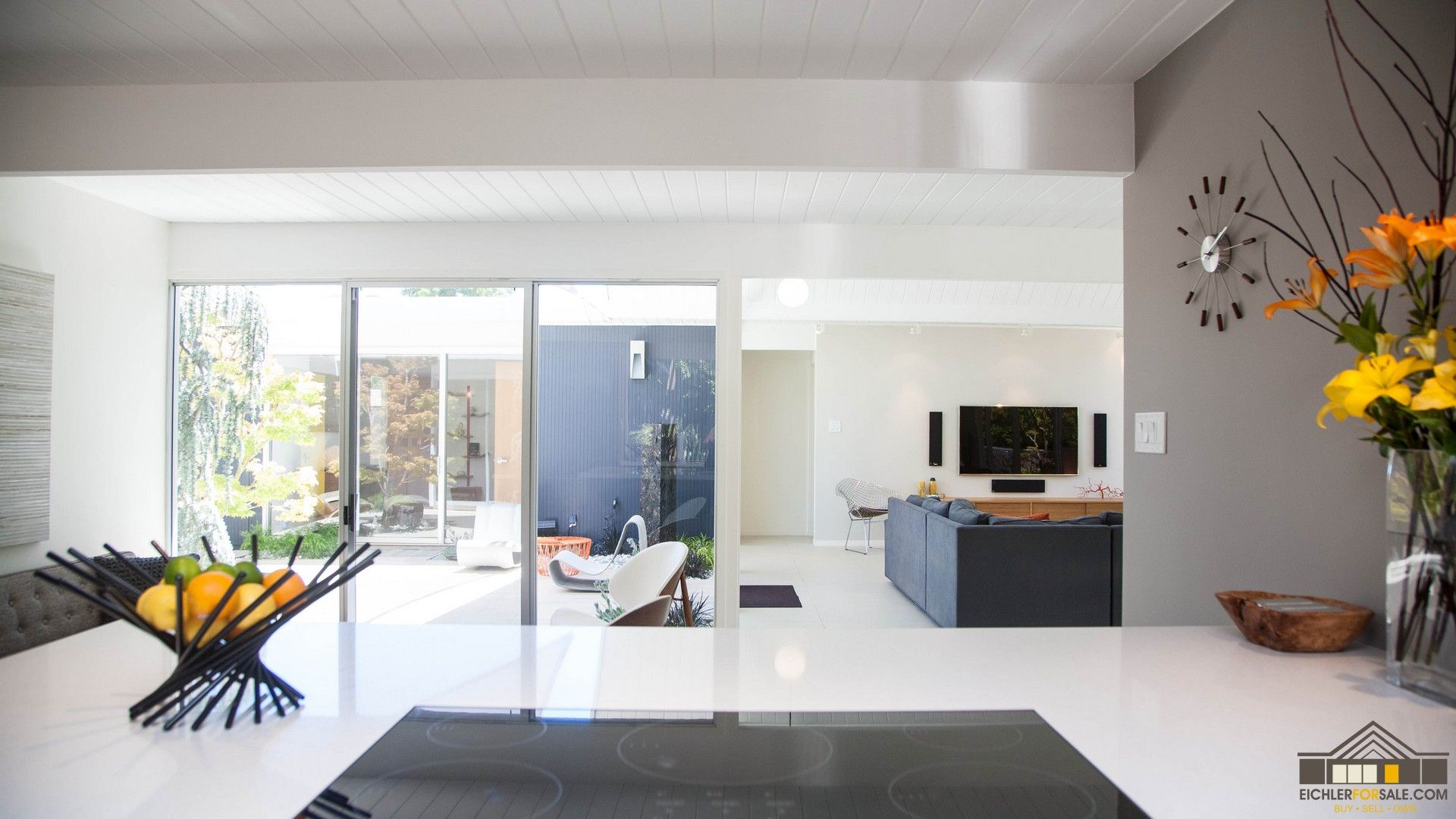 Eichler Kitchen Remodeling | Photos of Remodeled Mid-Century Modern ...