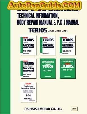 download free 2 daihatsu terios daihatsu bego toyota rush rh pinterest com Vehicle Repair Manuals Car Repair Manuals