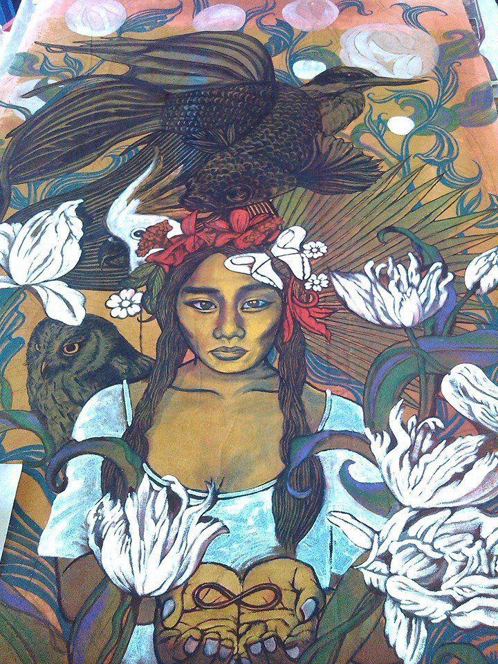 Artwork by Jonathan Benitez, Palawan based Filipino Artist