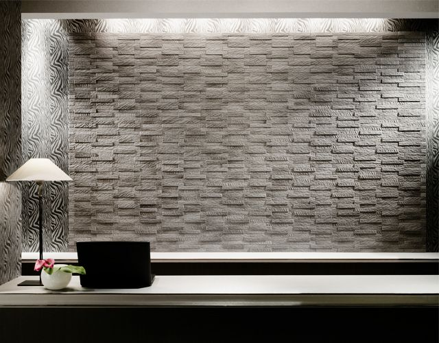 Inax Ecocarat Granas Ludra Ceramic Wall Tiles Inax Feature Wall