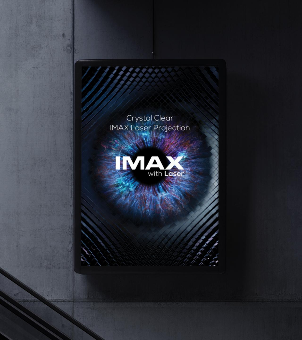 Imax Design Advert By Trollback Imax With Laser Ads Of The World In 2021 Imax Brand Refresh Laser