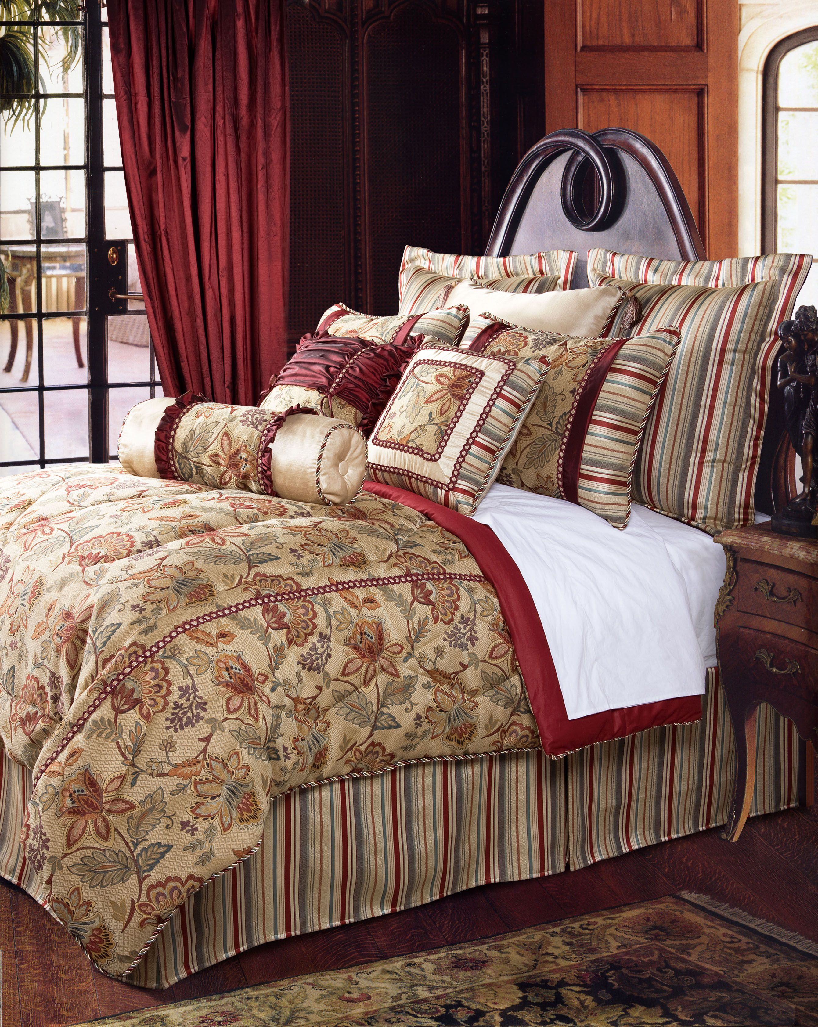 Best Jennifer Taylor Brand Dempsy Collection Luxury Bedding 400 x 300
