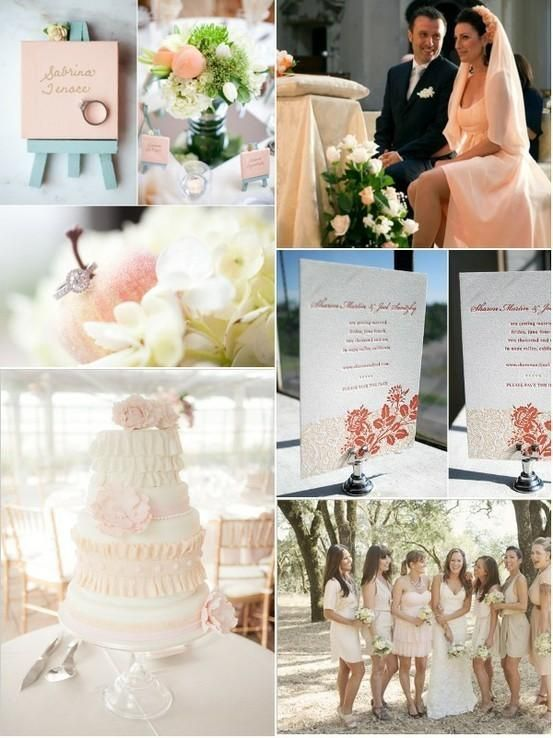 color palettes for weddings- Fairytale wedding colors