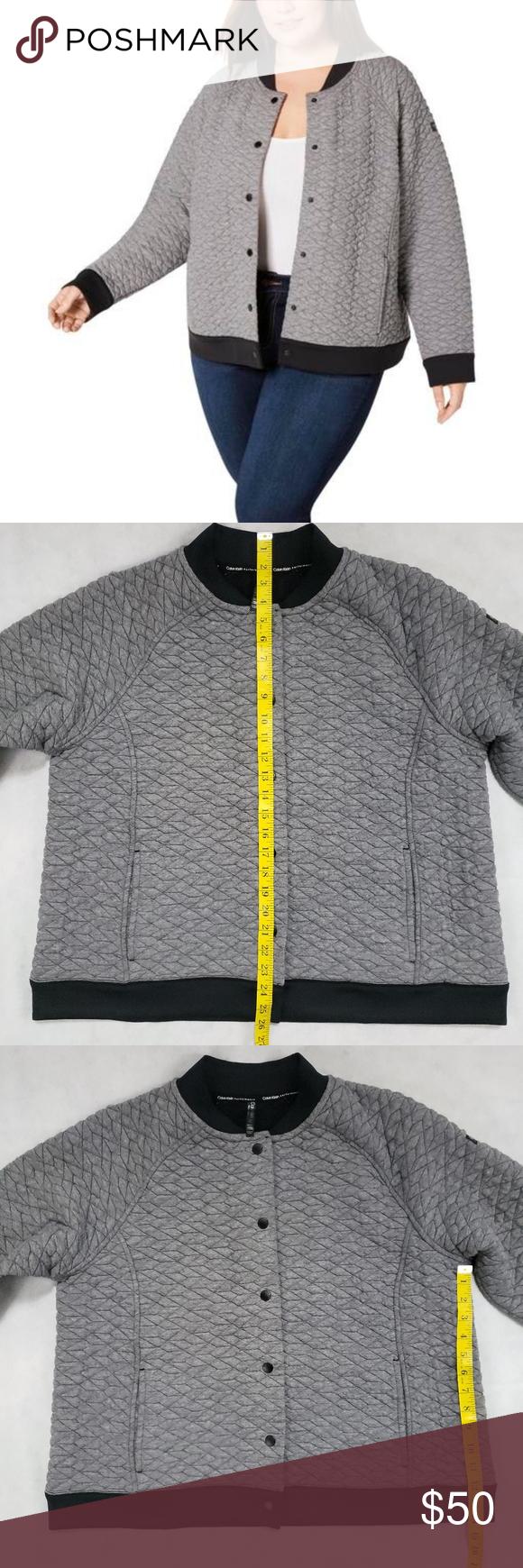 Nwt Calvin Klein Performance 1x Bomber Jacket Clothes Design Bomber Jacket Women Bomber Jacket Street Style [ 1740 x 580 Pixel ]