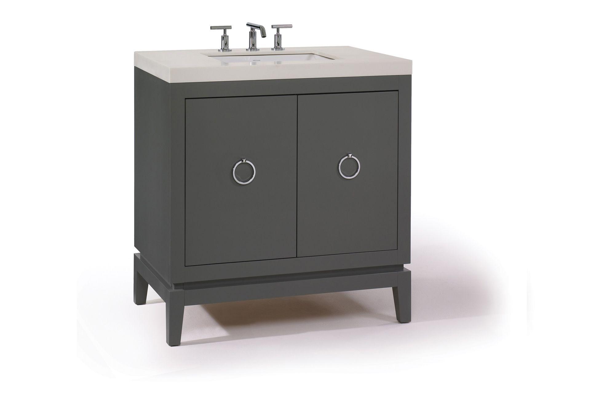 Artistic Tile Waterfall Bathroom Furniture The Diplomat 32