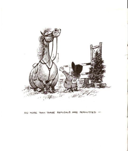 THELWELL PONY HORSE ORIGINAL VINTAGE MOUNTED CARTOON PRINT 1962   eBay