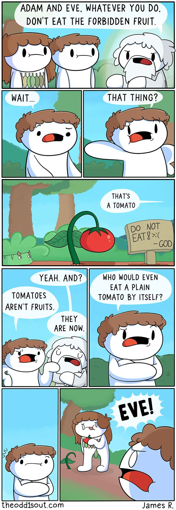 These 275 Funny Comics By Theodd1sout Have The Most Unexpected Endings