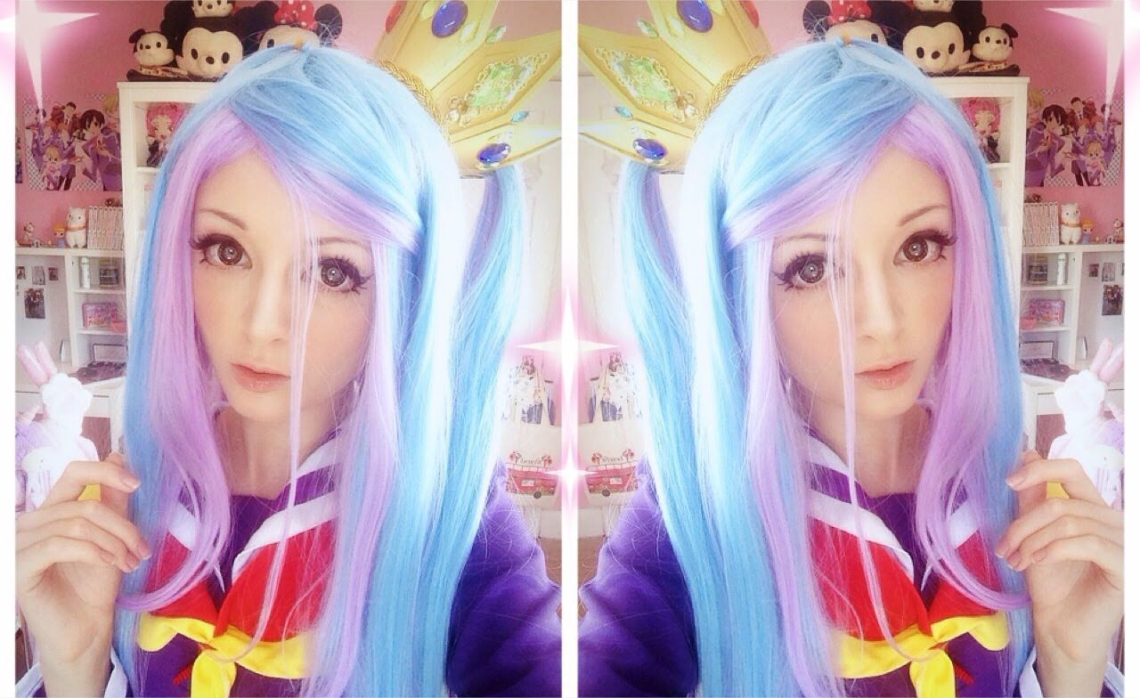 Shiro Cosplay Makeup Tutorial! NO GAME NO LIFE!! Shiro