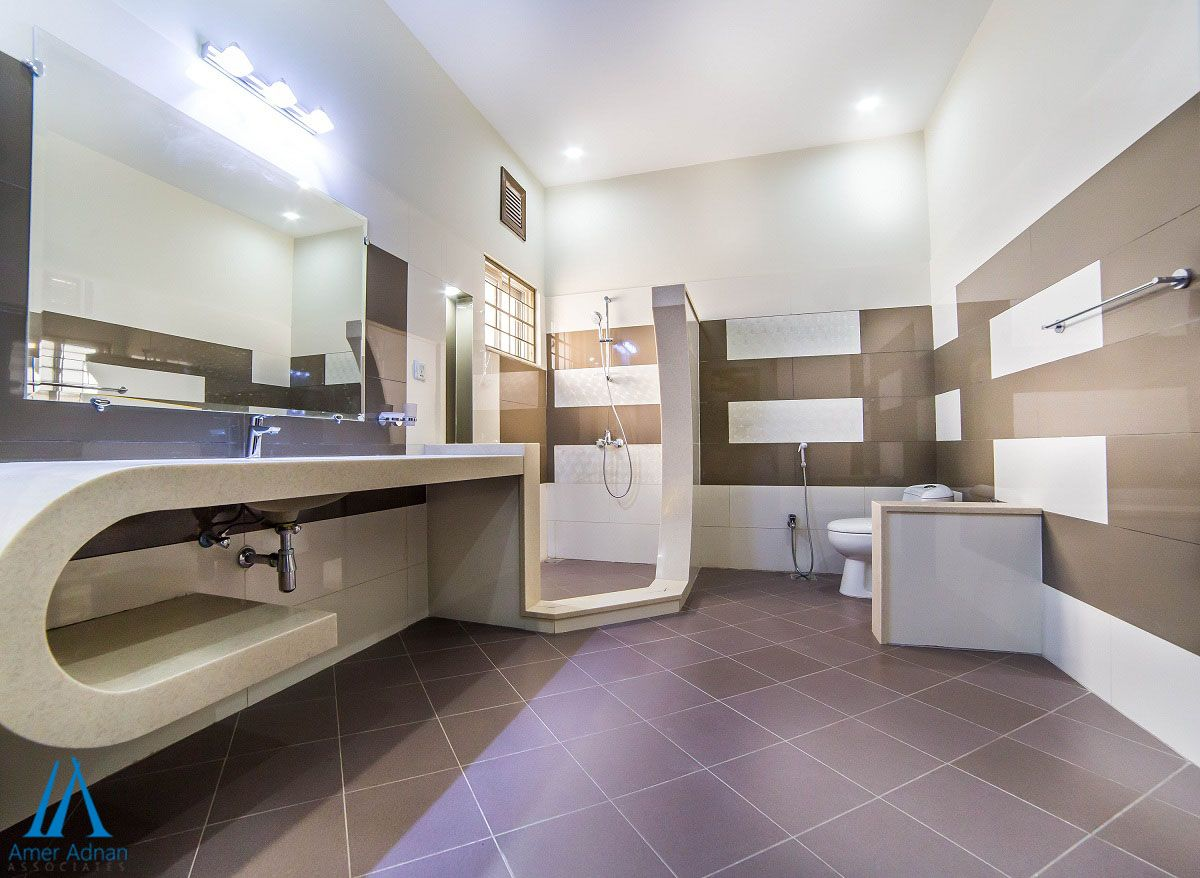 Latest Bathroom Design By Aaa In Izmir Town La Your Home Contacting Us At Annie Ameradnan Or Call On 042 36655262