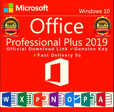 (eBay Link)(Ad) Microsoft Office 2019 Professional Plus