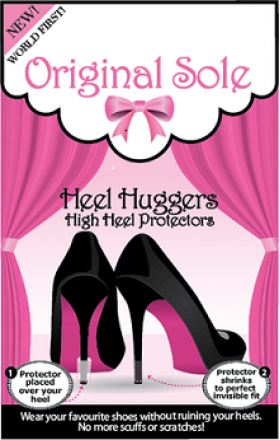 7c9d8c6140c Race day is almost here! These shoe huggers protect your heels and leave  them in