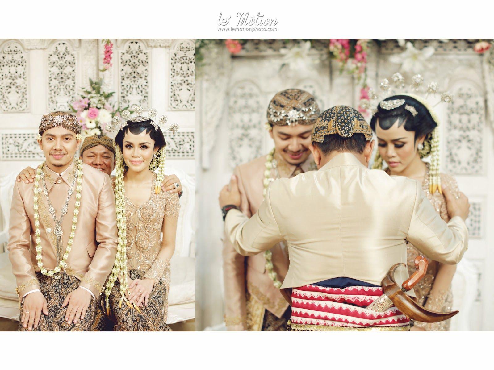 Pakaian Resepsi Pernikahan Adat Jawa