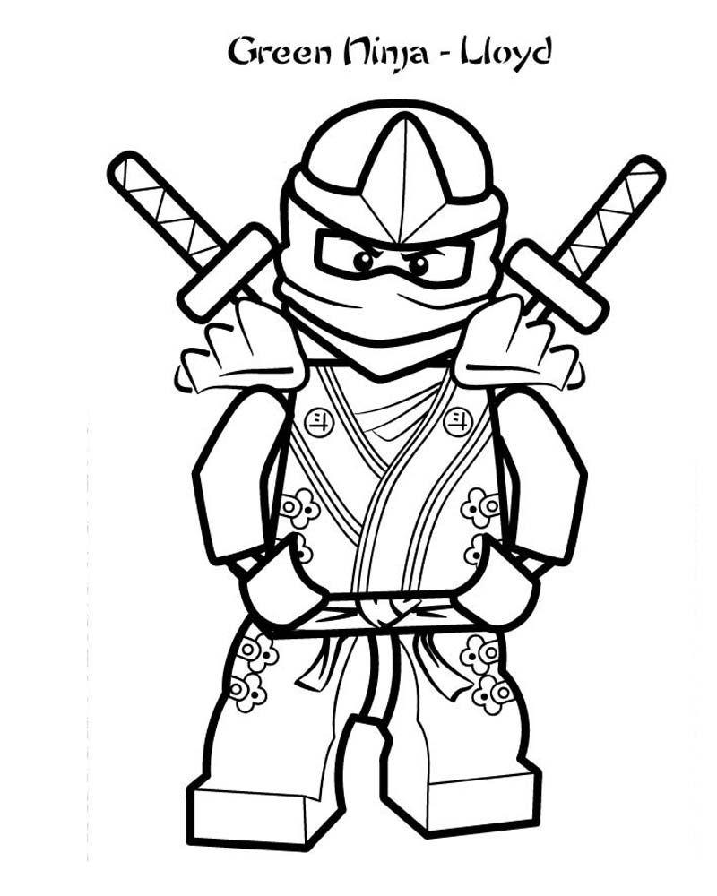 Kolorowanki Ninjago Lloyd