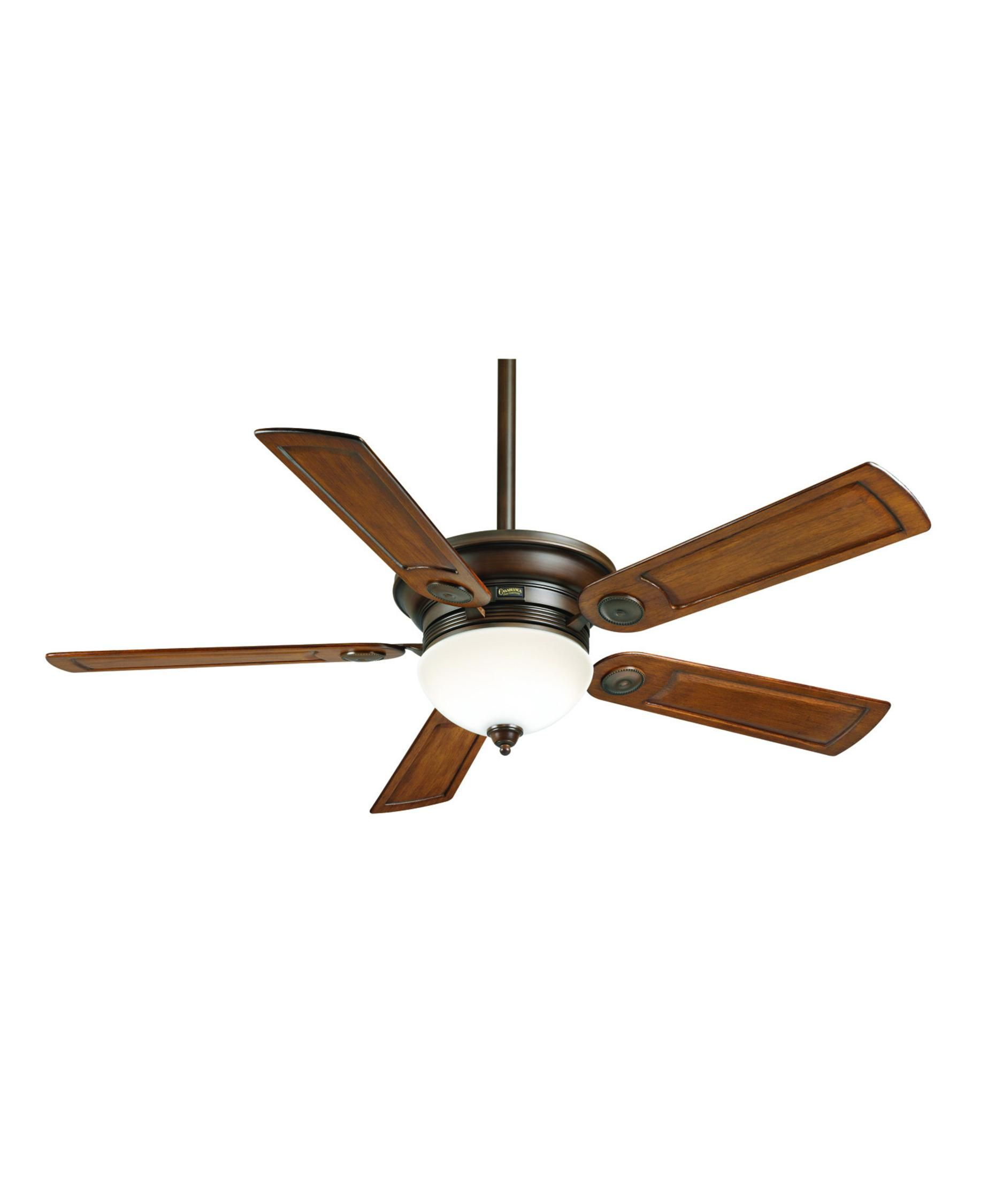 Casablanca 59060 Whitman 54 Inch Ceiling Fan With Light Kit