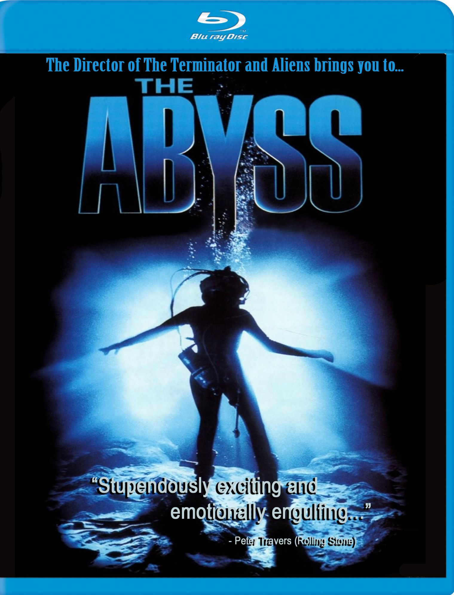 The Abyss Released 1989 With Ed Harris Mary Elizabeth