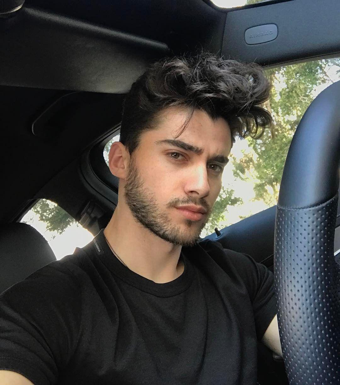 Selfie handsome guy Handsome guy