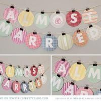 Almost Married Banner {Bridal Shower Printable}