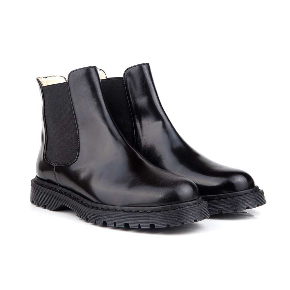 1ed6d0f22c2 Jazz Black Vegan Chelsea Boots
