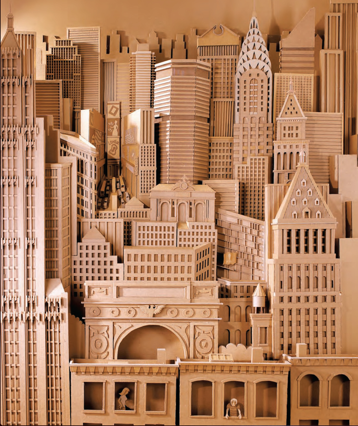 """Daniel Agdag's intricate creations take inspiration from his fascination with the complex, internal mechanisms which lie behind the sleek facades of modern technology. His works have been described as """"architectural imaginings"""" because they strike the perfect balance between conceivable machinery and dreamy inventions."""