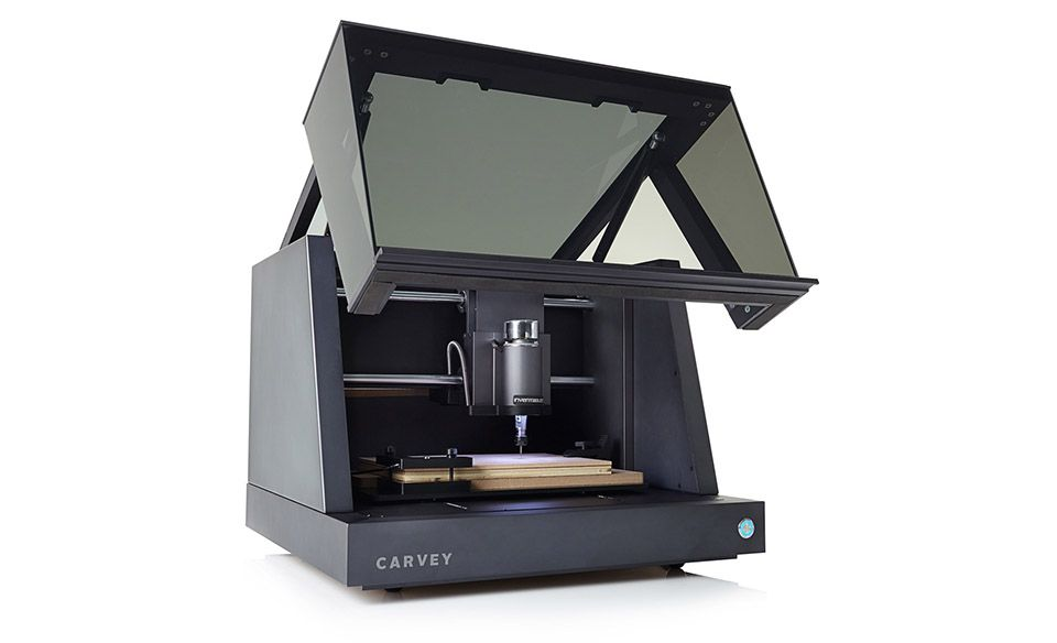 Carvey's desktop carving machine lets anyone be an industrial designer