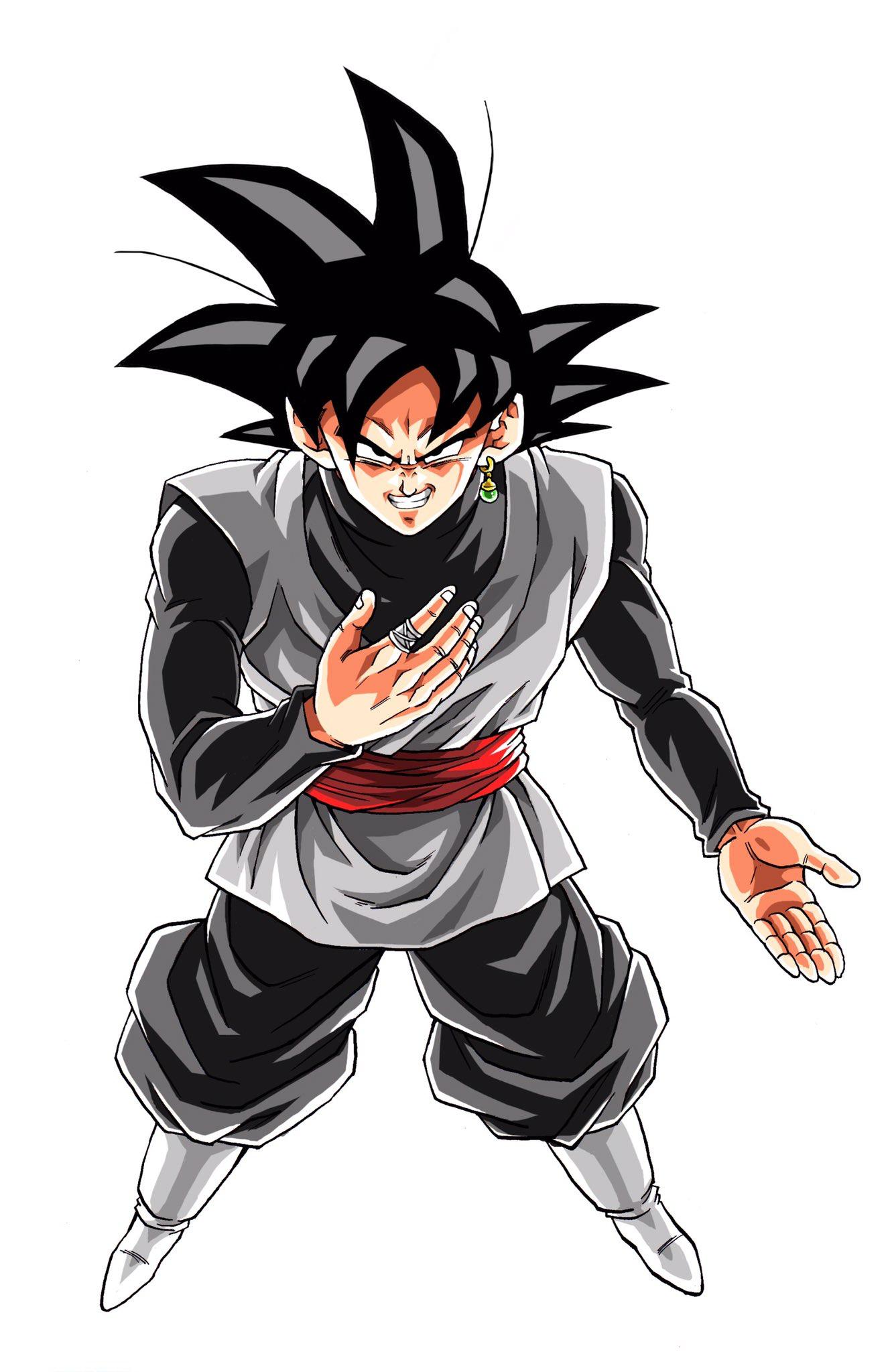 Black Goku Anime Dragon Ball Goku Black Dragon Ball Super
