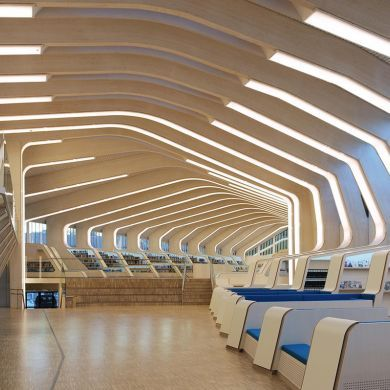 Vennesla Library: Location: Vennesla, NorwayYear of Construction…
