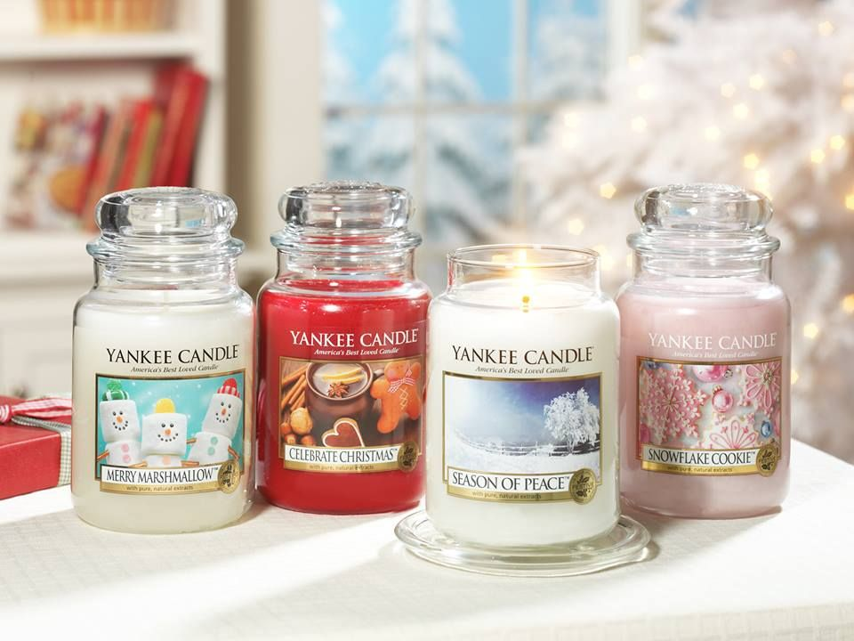 Yankee Candle Winter Collection Candles Yankee Candle Cosy Candles