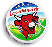 With Salticrax End Of Month Bliss Laughing Cow Cow Logo Blue Cow