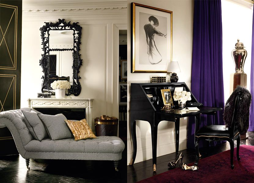 glamorous home: ralph lauren home - apartment no. one collection
