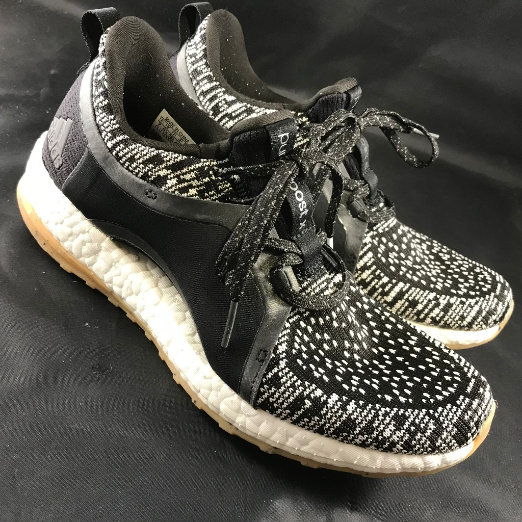 Adidas Shoes Mint Condition Adidas Pure Boost X Atr Womens 7 Us Color Black White Size 7 5 Adidas Pure Boost Dress Shoes Men Cole Haan Zerogrand Oxford