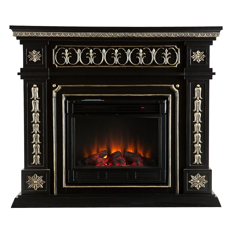 Devonshire Electric Fireplace - Black